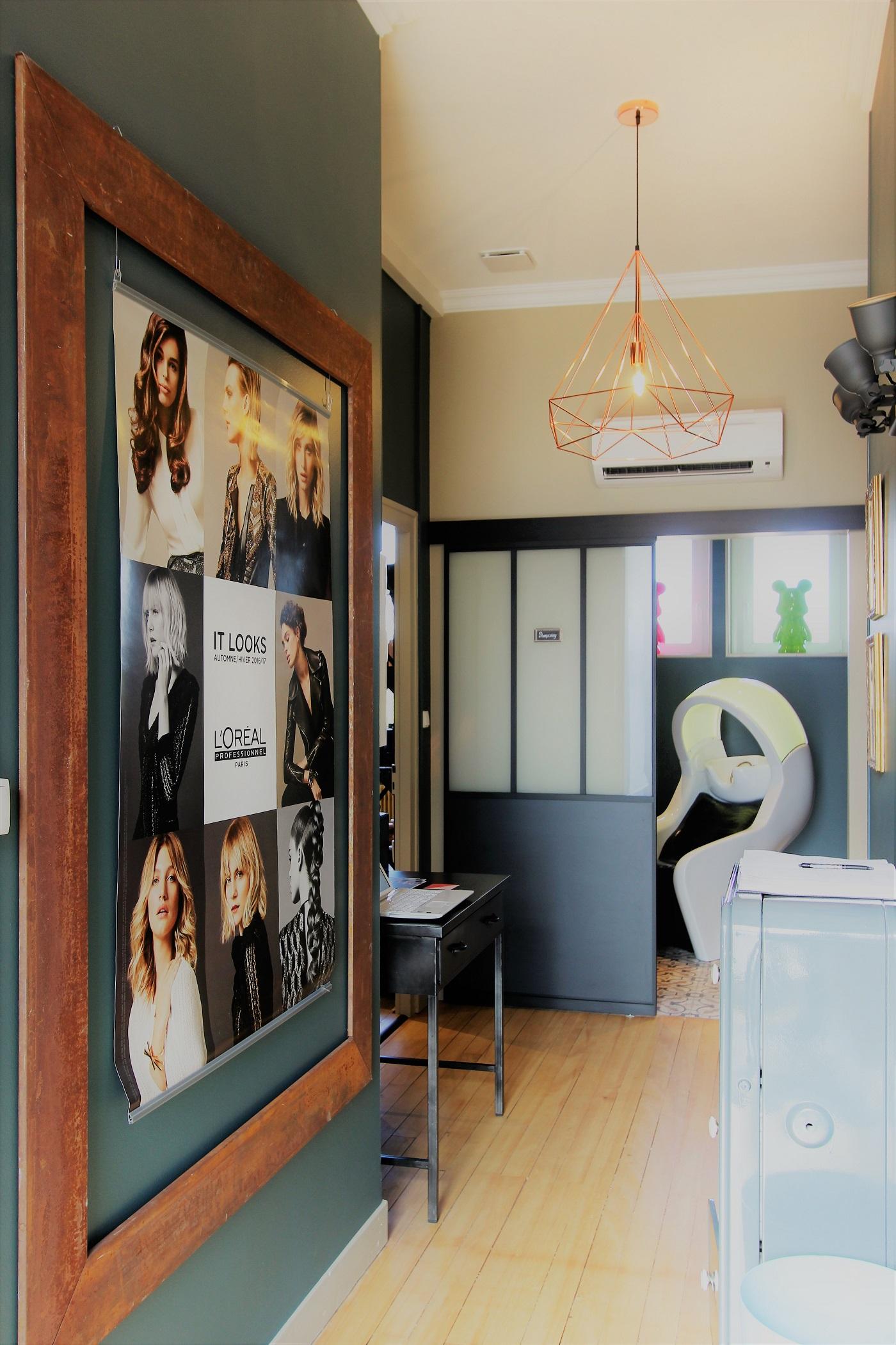 INOVEADECO : Salon de Coiffure - L\'Atelier By Etienne K ...